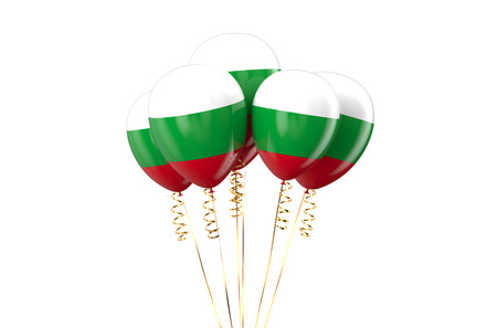 holyday: Hungary Republic patriotic balloons, holyday concept