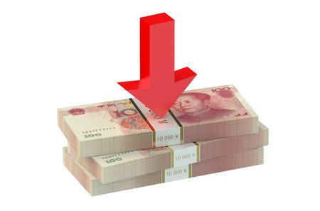 yuan: falling of the Chinese yuan concept