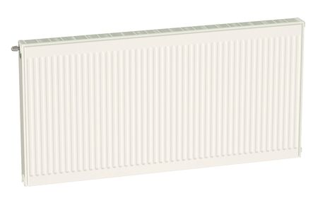 convective: Eco heating radiator isolated on white background