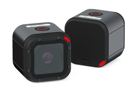 DVR Dash Camera isolated on white background