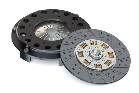 automobile clutch  isolated on white background Standard-Bild