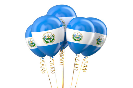 holyday: Senegal patriotic balloons, holyday concept