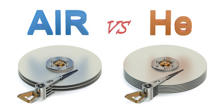 hard disk drive: New technology of high capacity Hard Disk Drive (HDD) concept