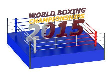 doha: World Boxing Championship 2015 Doha concept