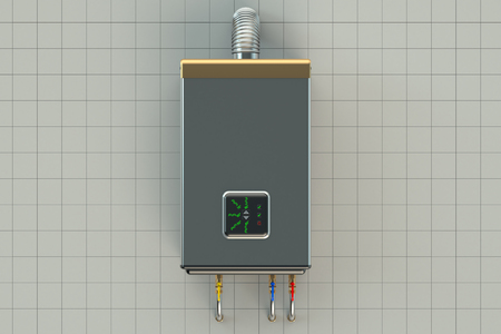 heater: Home gas-fired boiler, water heater