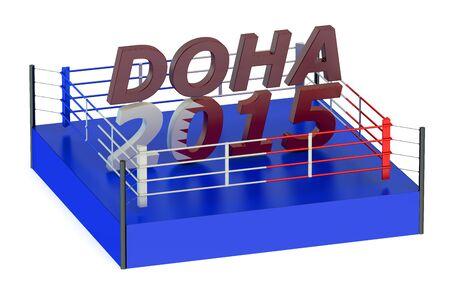 doha: Boxing Championship 2015 Doha concept