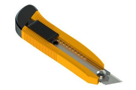 utility knife: Utility Knife isolated on white background