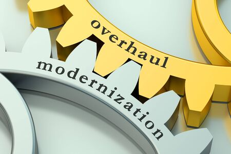 modernization: Overhaul Modernization concept on the gearwheels