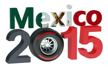 bolide: F1 Formula 1 Grand Prix in Mexico 2015