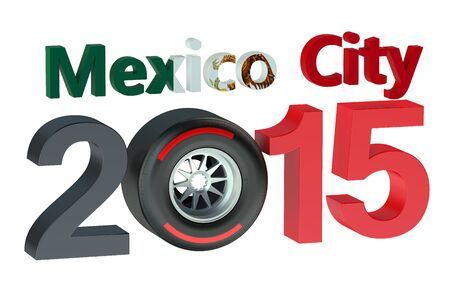 prix: F1 Formula 1 Grand Prix in Mexico City 2015