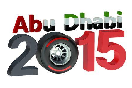 bolide: F1 Formula 1 Grand Prix in Abu Dhabi 2015
