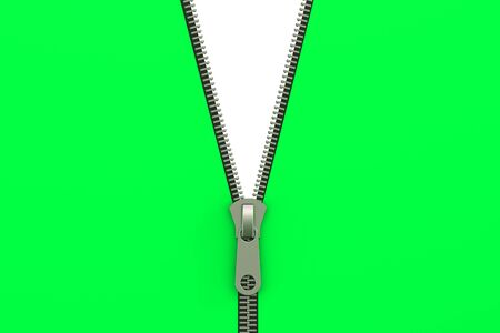 unbuttoned: zipper