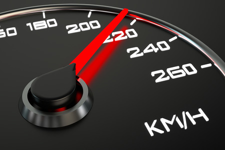 velocimetro: velocímetro de cerca