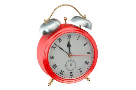 alarmclock: Alarm Clock isolated on white background