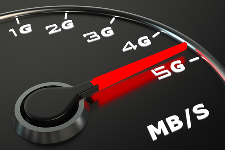 Wireless network speed evolution concept
