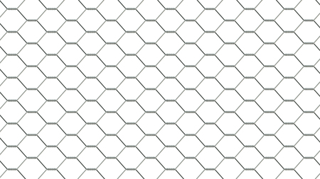 detain: fencing mesh on white background, texture