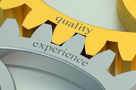 control de calidad: calidad y concepto de la experiencia en el engranaje
