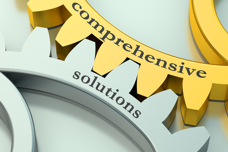 comprehensive: comprehensive solutions concept on the gearwheels