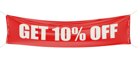 sale and discount 70 % concept isolated on white background