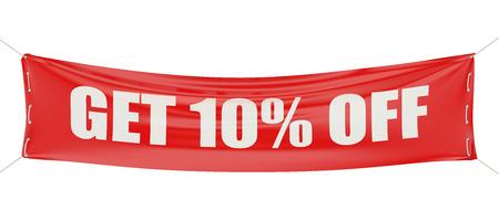vendita e sconto del 70% concetto isolato su sfondo bianco