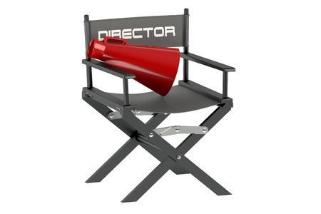 cinematography: cinematography isolated on white background Stock Photo