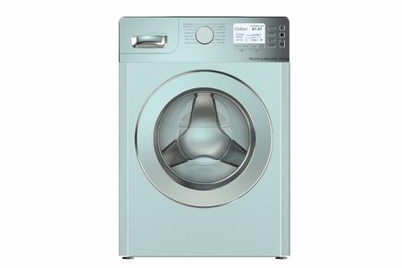 washing machine: Washing machine  isolated on white background
