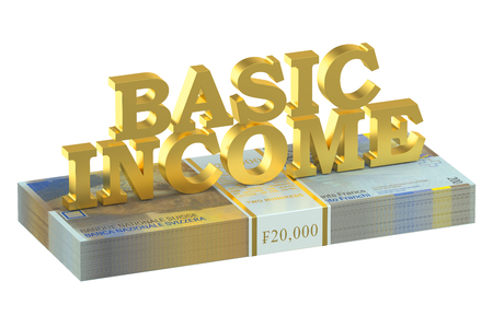 basic: switzerland basic income concept