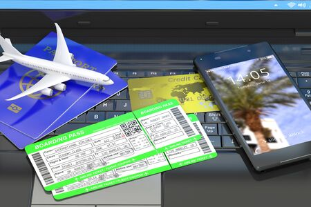 buying: Buying air tickets online