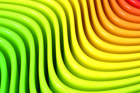 rainbow colors: Abstract rainbow colors wave background Stock Photo