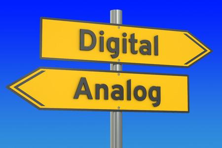 Numérique vs notion analogique, le rendu 3D