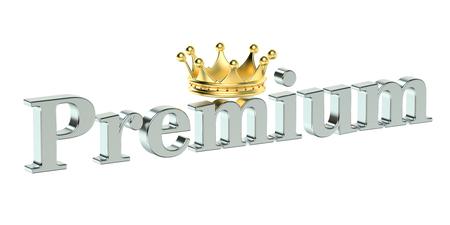 rendering: Premium concept, 3D rendering
