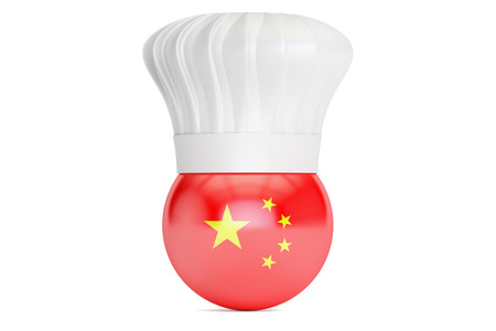 chinese cuisine: Chinese cuisine concept, 3D rendering