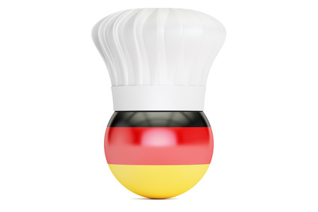 cook out: German cuisine concept, 3D rendering Stock Photo