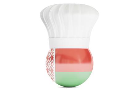 cook out: Belarusian cuisine concept, 3D rendering