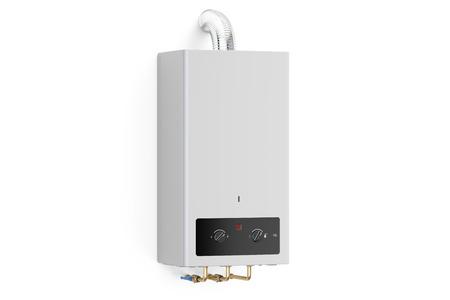 Startseite Gas-Wasser-Heizung - Boiler Im Badezimmer Für Warmwasser ...