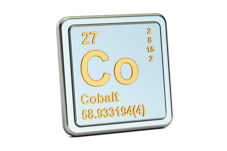 Cobalt Is A Chemical Element With Symbol Co And Atomic Number