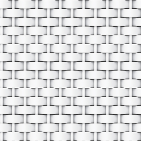 Black and white bump map of cloth for texture, 3D rendering