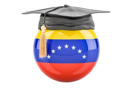education and study in Venezuela concept, 3D rendering Stock Photo