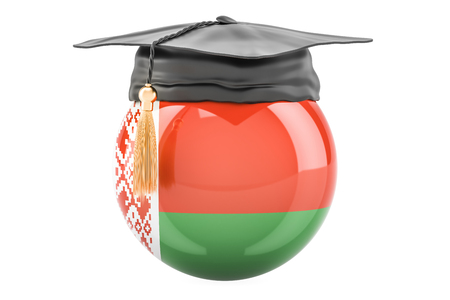 education and study in Belarus concept, 3D rendering Stock Photo