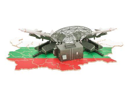 Bulgarian missile defence system concept, 3D rendering