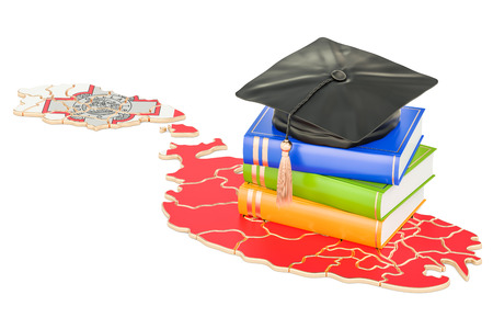Education in Malta concept, 3D rendering isolated on white background Stock Photo