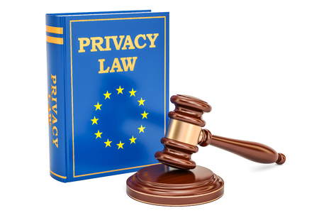 Reform of EU data protection rules concept, 3D rendering