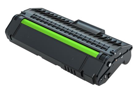 Toner cartridge, 3D rendering isolated on white background Imagens - 108148781