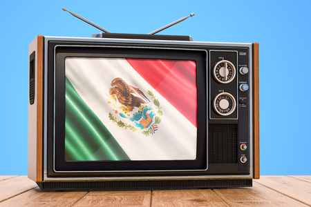 Mexican Television concept, 3D rendering