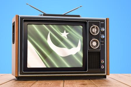 Pakistani Television concept, 3D rendering