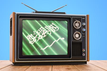 Saudi Arabia Television concept, 3D rendering