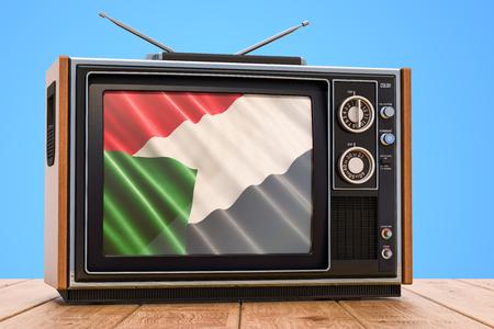 Sudanese Television concept, 3D rendering Banco de Imagens