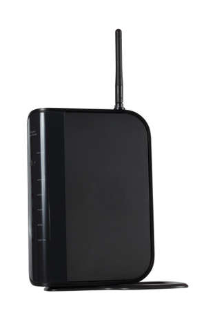 Wi-Fi modem for internet networks isolated on white background
