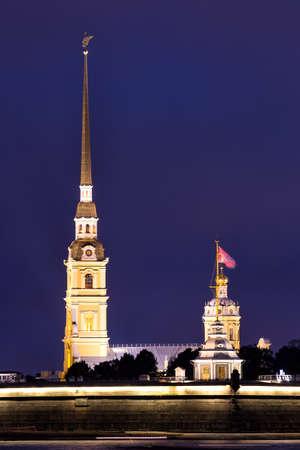 st  petersburg: Admiralty spire in St Petersburg. Russia