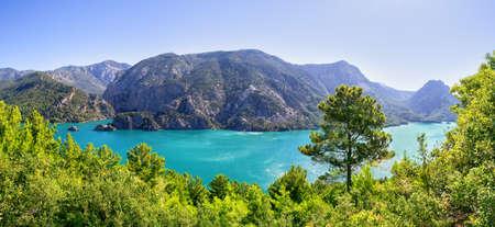 Panorama of the Green Canyon 版權商用圖片